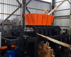 Шредер для древесных отходов