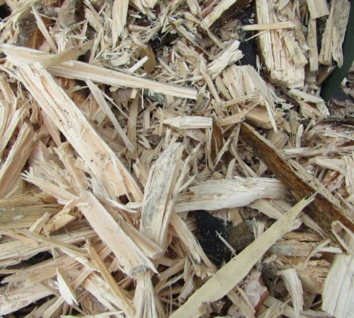 Щепа древесная из шредера