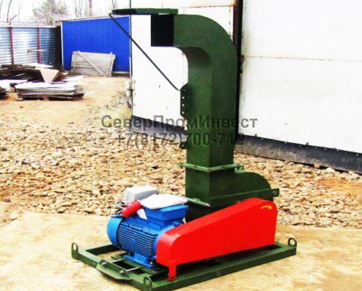 Щепорубительная машина привод электродвигатель