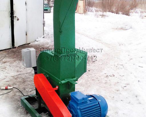 Щепорубительная машина привод электрический